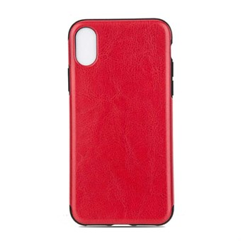 Image of   High Elegant Cover i TPU plast og silikone til iPhone X - Rød