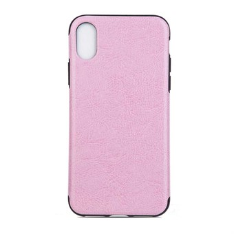 Image of   High Elegant Cover i TPU plast og silikone til iPhone X - Pink