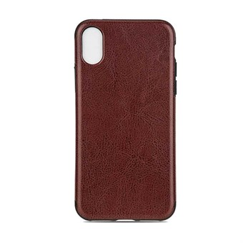 Image of   High Elegant Cover i TPU plast og silikone til iPhone X - Brun