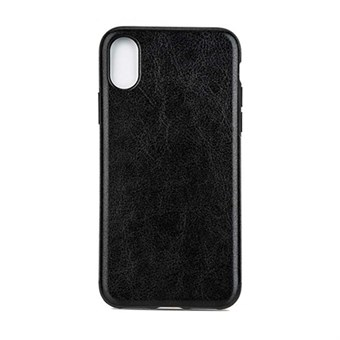 Image of   High Elegant Cover i TPU plast og silikone til iPhone X - Sort