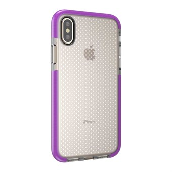 Image of   Perfect Glassy Cover i TPU plast og silikone til iPhone X - Lilla