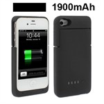 External Batteri cover 1900mAh 4/4S