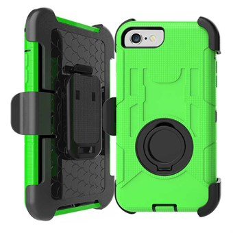 Image of   iphone 7/8 Belt Clip Holster Silicone And PC Back Case Grøn / under updatering