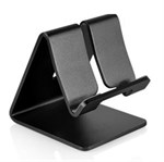 Aluminium holder til Smartphone/ Tablet, universal - Sort