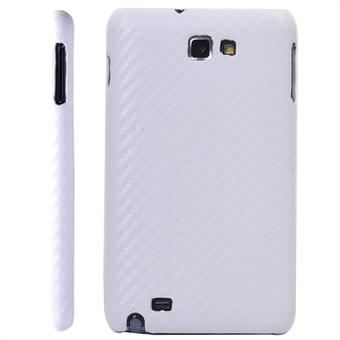 Image of   Samsung Note carbon Cover (Hvid)