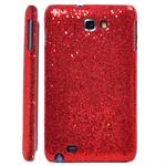 Galaxy Note Glittery Cover (Rød)