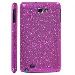 Galaxy Note Glittery Cover (Magenta)
