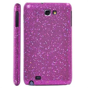 Image of   Galaxy Note Glittery Cover (Magenta)