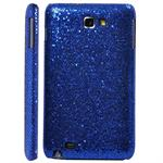 Galaxy Note Glittery Cover (Blå)