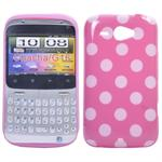 HTC ChaCha Dog Pattern (Pink)
