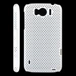 Net cover til HTC Sensation XL (Hvid)