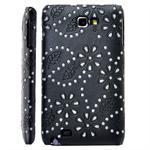 Galaxy Note Bling Cover (Sort)
