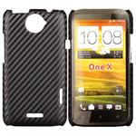Corbon Cover HTC ONE X (Sort)