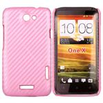HTC One X Corbon Cover (Pink)