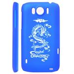 HTC Sensation XL Dragon Cover (Blå)