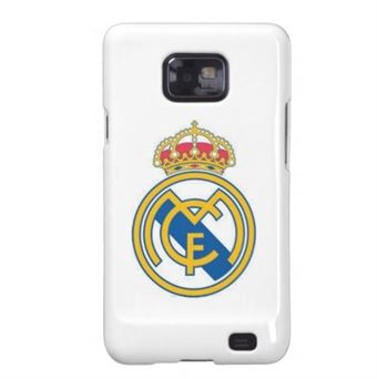 Image of   Fodbold cover Galaxy S2 - Real Madrid