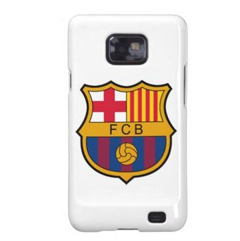 Image of   Fodbold cover Galaxy S2 - Barcelona