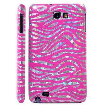 Image of   Galaxy Note Zebra cover (Pink)