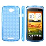 Ternet Cover HTC ONE S (Blå)