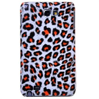 Image of   Galaxy Note Leopard (Orange)