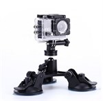 Triple Sugekop Holder til GoPro HERO