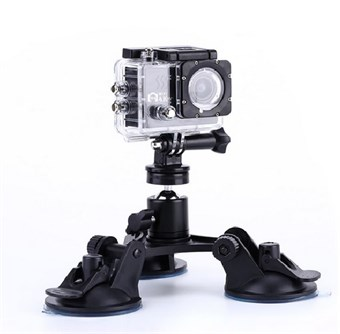 Image of   Triple Sugekop Holder til GoPro HERO