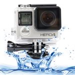 White Edition Vandtæt case til GoPro hero 4 / 3+