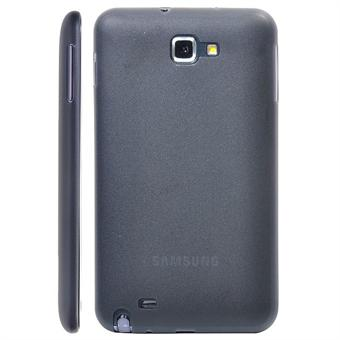 Image of   Galaxy Note Tyndt Cover (Sort)