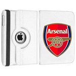 Roterende Fodbold Etui til iPad Air - Arsenal