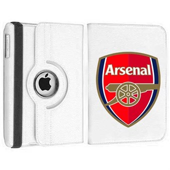Image of   Roterende Fodbold Etui til iPad Air - Arsenal