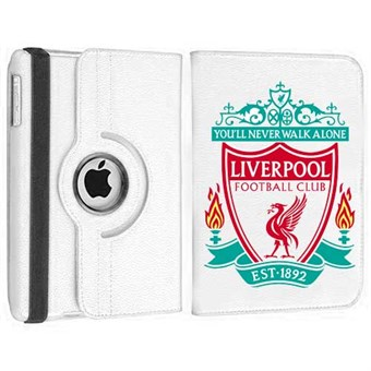 Image of   Roterende Fodbold Etui til iPad Air - Liverpool