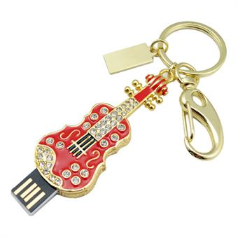 Image of   USB Flash Drive 4GB Bling Guiter