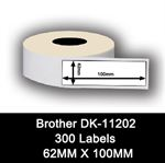 Brother kompatible labels DK-11202