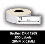 Brother kompatible labels DK-11209