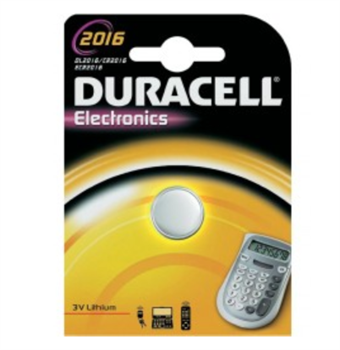 Image of   Duracell Lithium 2016 BG1