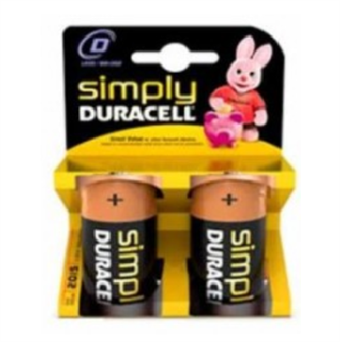 Image of   Duracell SIMPLY - D (MN1300/LR20) 2KP