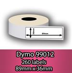 DYMO labels 99012 - Fra 29 kr (89mm x 36mm) 260 stk. labels