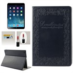 Fancy iPad Air dekorativ etui (Sort)