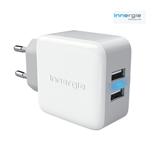 Innergie - Dual AC 2,1 AMP / 21W USB oplader