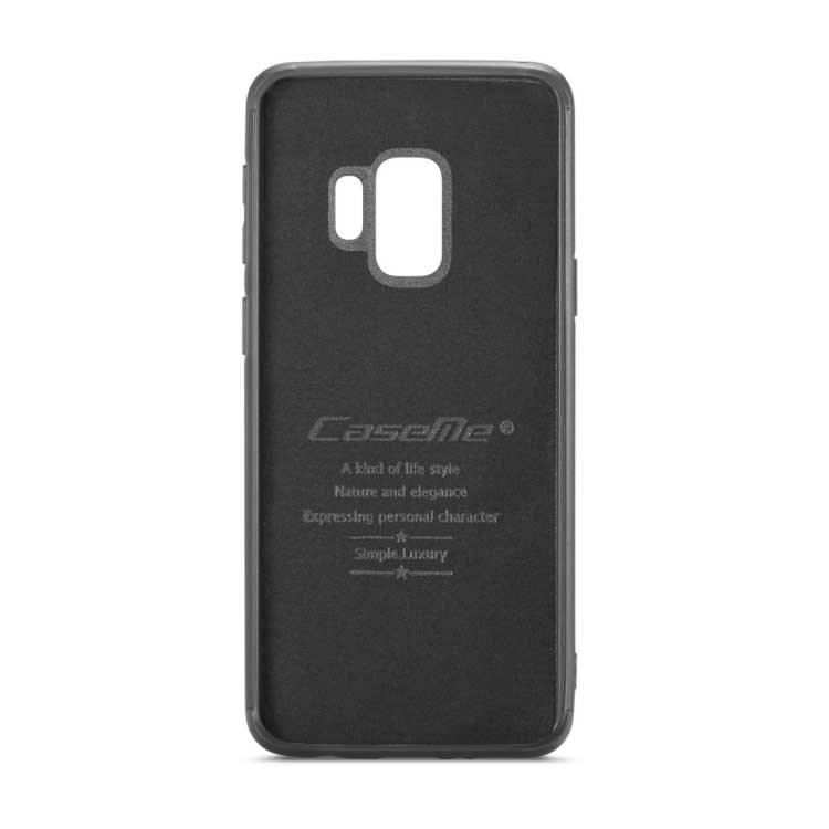 ecc6f4839d8 CaseMe Premium læder Pung m/ magnetisk Cover til Samsung Galaxy S9 - Brun.  pris1