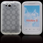HTC Wildfire S Silikone Cover (Transparent)
