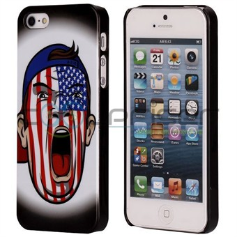 Image of   iPhone 5 Cover American Fan