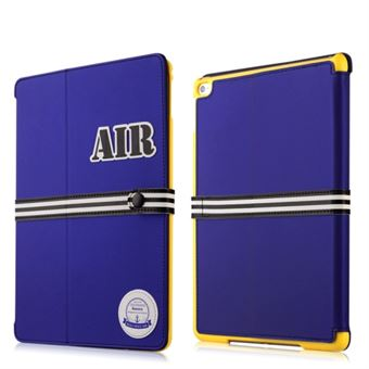 Image of   Baseus iPad Air 2 Baseball Serie etui - Blå