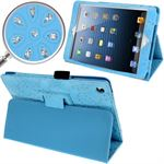 Diamond Bling iPad Mini Etui (Turkis)