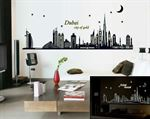 Wall Stickers -  Dubai, City Of Gold