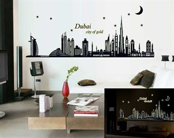Image of   Wall Stickers - Dubai, City Of Gold