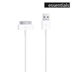 USB 30-pin kabel iPhone/iPad - Fra Essentials