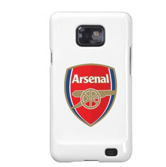Image of   Fodbold cover Galaxy S2 - Arsenal