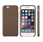 iPhone 6 Plus / 6S Plus læder cover - Brun