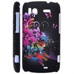 Motiv Cover til HTC Sensation (Dark Flower)